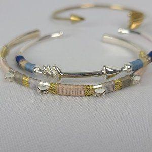 Stella & Dot Cuff Bracelets & Ring